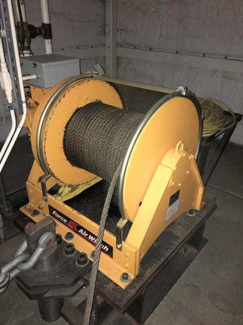 1 - Ingersoll Rand FA7-24AX1-14GP 15,400 XNUMX фунтов Tragfähigkeit Luftbetriebene Winde