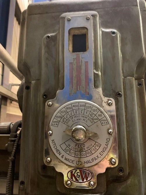 1 - 40T7 Radialbohrmaschine für Küche und Wade