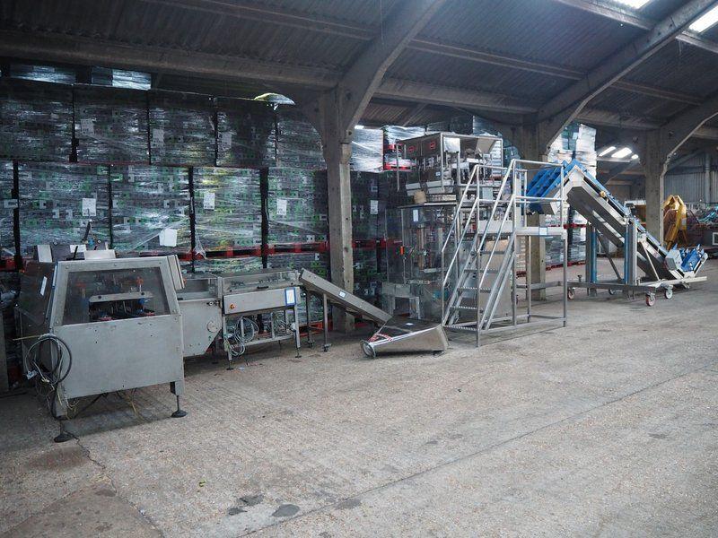Kombination: Line Equipment / MPB / Kliklok Internationale Verpackungslinie.
