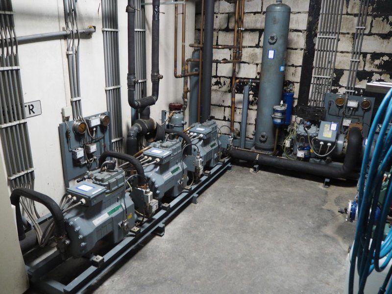 Combinación: DMW Copeland Kühlkompressorgestell