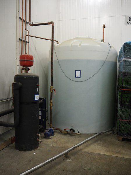 Kombination: Ciat / Borö-Wärmetauscherinstallation