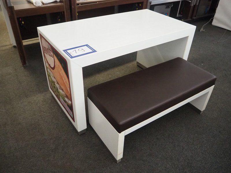 NN Tisch und Bank