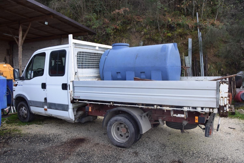Iveco Daily Truck mit Senkkasten
