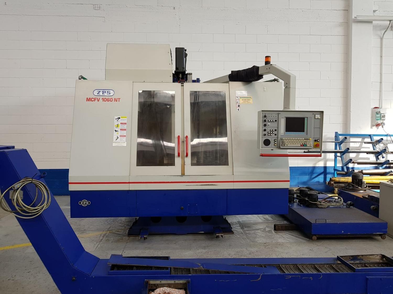 ZPS Vertikal-Bearbeitungszentrum Mod MCFV 1060 NT