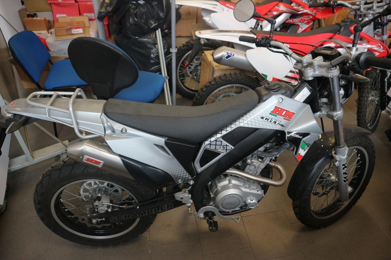 HM Scrambler Motorrad