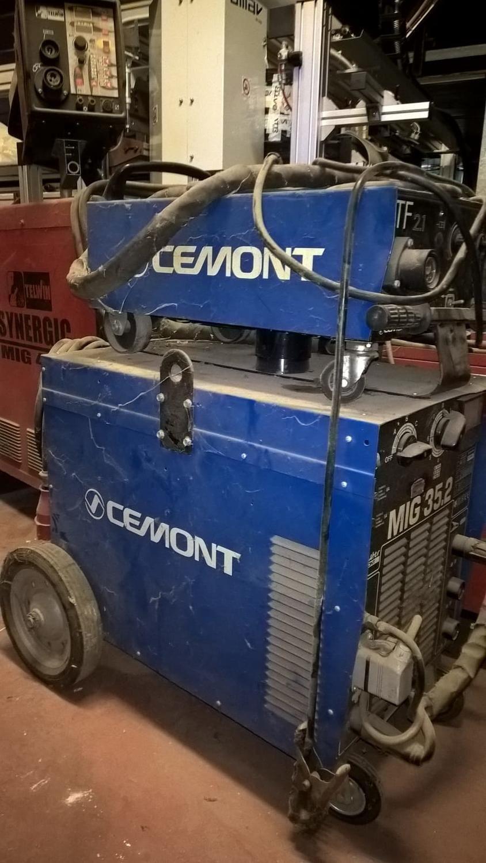 Cemont mig 35.2 Schweißgerät