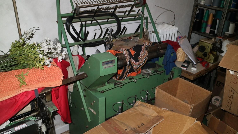 Galbati Drahtvorschubmaschine und Complett Nähmaschine