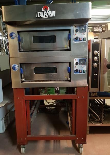 Italforni professioneller elektrischer Ofen im Edelstahl