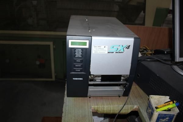 Epson Drucker и Toshiba Etikettierer