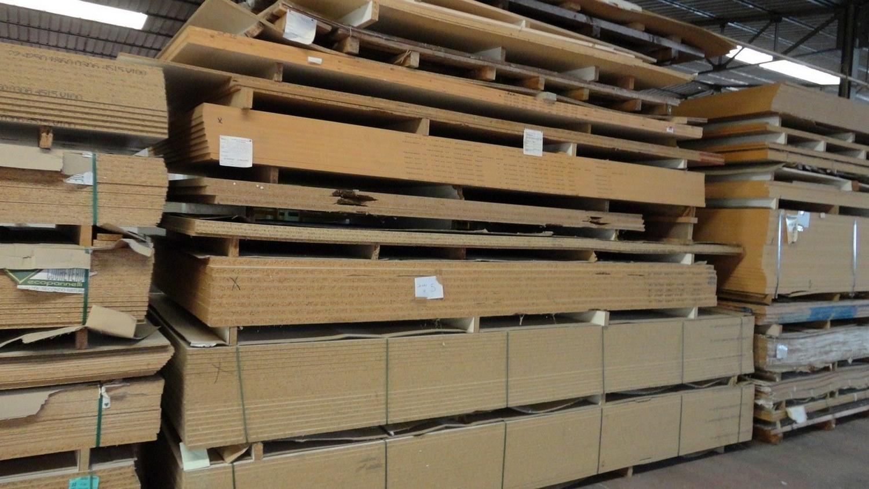 MDF-Holzplatten