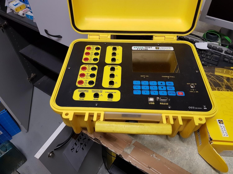 Test vert Photovoltaik-Zertifizierer und Thermosolar-Solarimeter