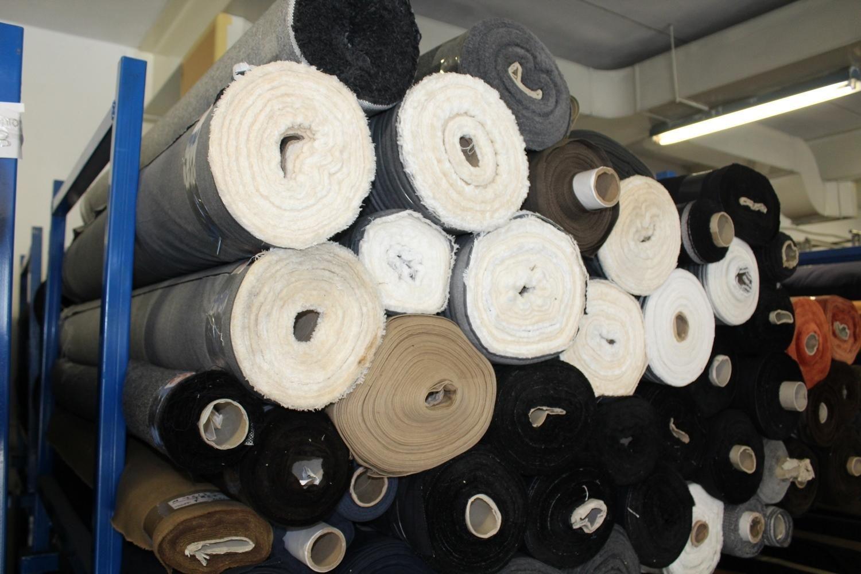Baumwoll- und Polyestergewebe