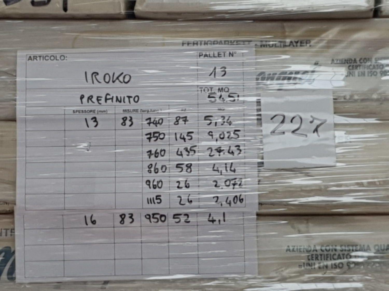 Iroko-Mehrschichtparkett