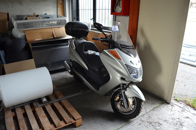 Yamaha Majestät Motorrad