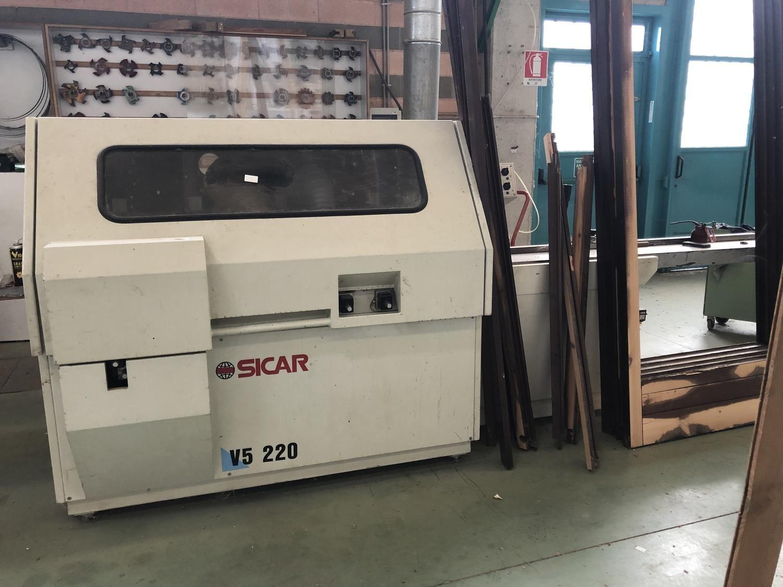 Sicar V5 220 Kehlmaschine