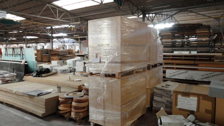 Holzschubladen