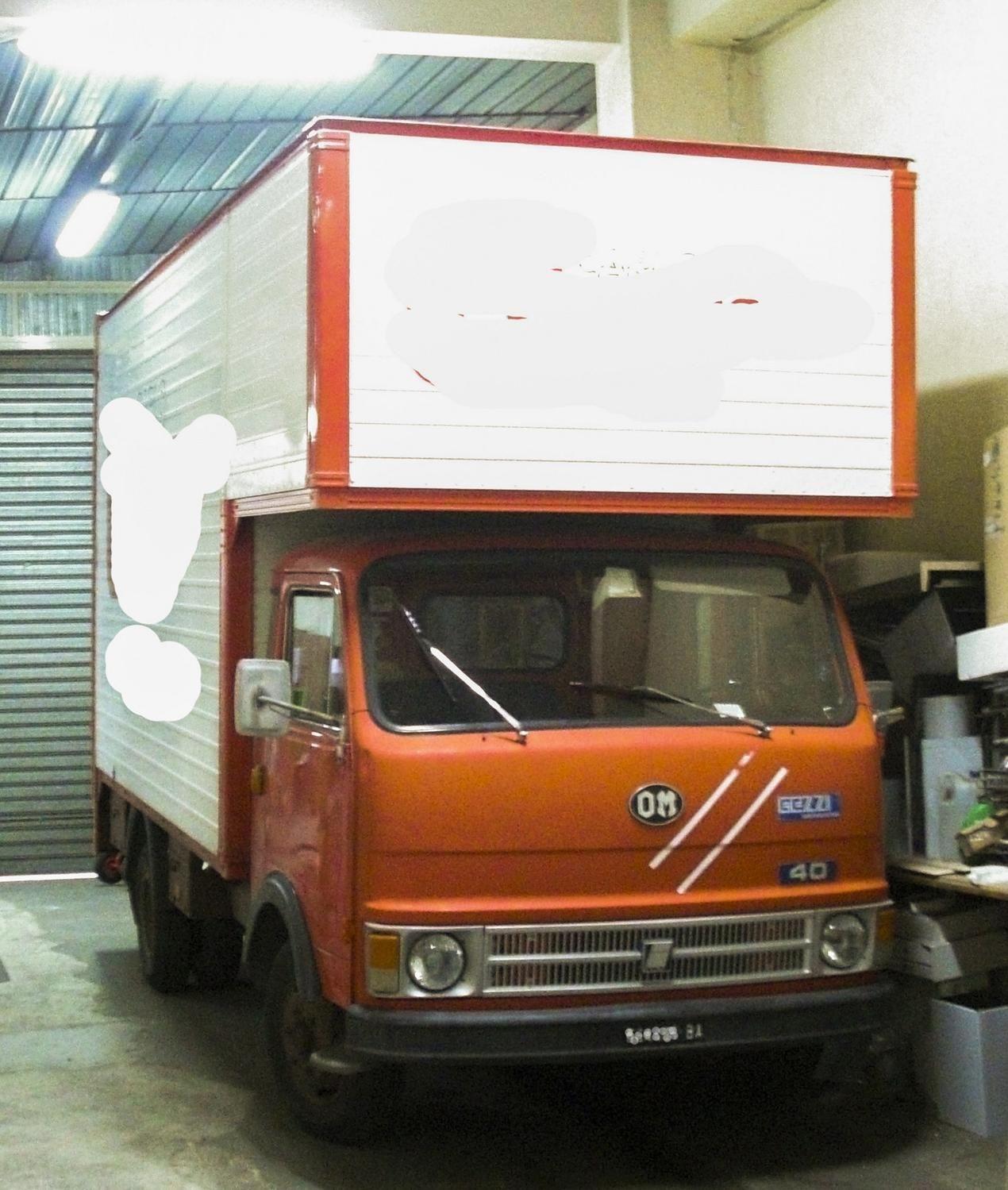 Fiat OM 40 35 B LKW