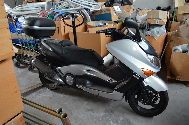 Yamaha Tmax Motorrad