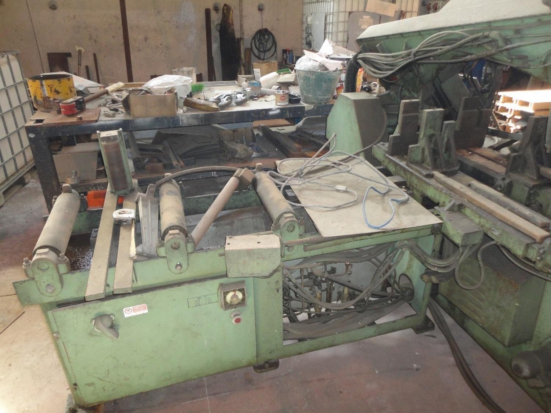 Stillgelegte Maschinen und Eisenwerkstoffe