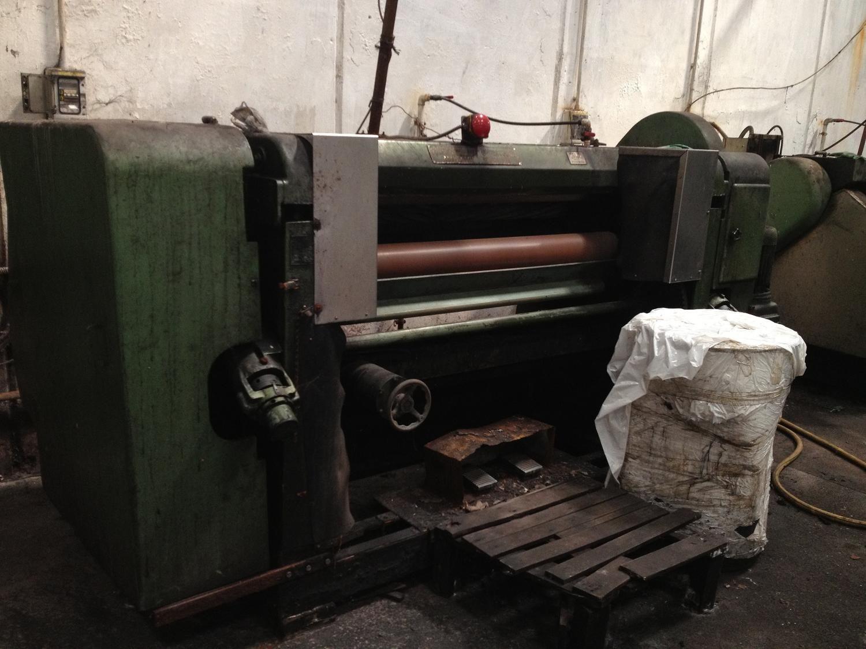 Mercier Freres Annonay stellt Gerbereimaschinen auf und sammelt sie