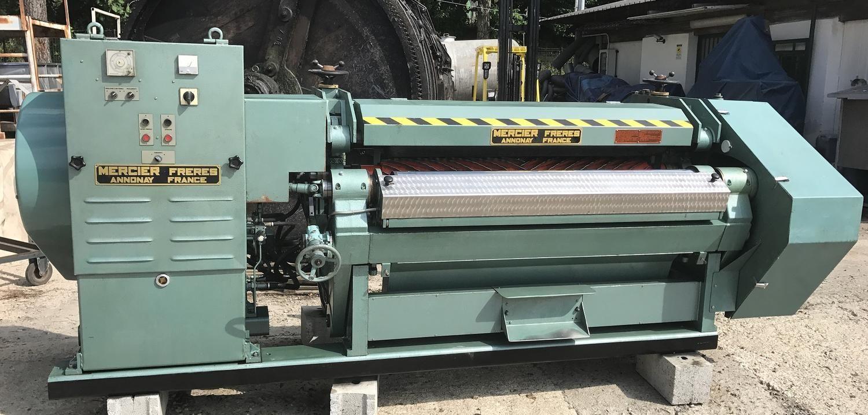 Mercier Freres Annonay Finiflex ETIR h2 h2 und darlegt sammying Maschinen Gerbereimaschinen