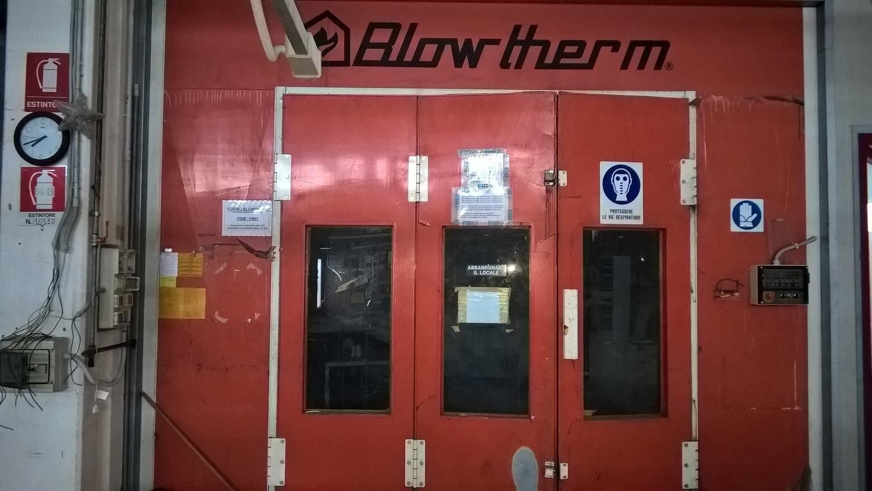 Blowtherm Lackierofen