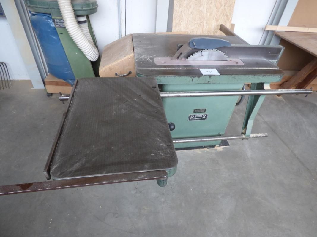 Kombinierte Tischkreissäge / Fräse REX 54 D