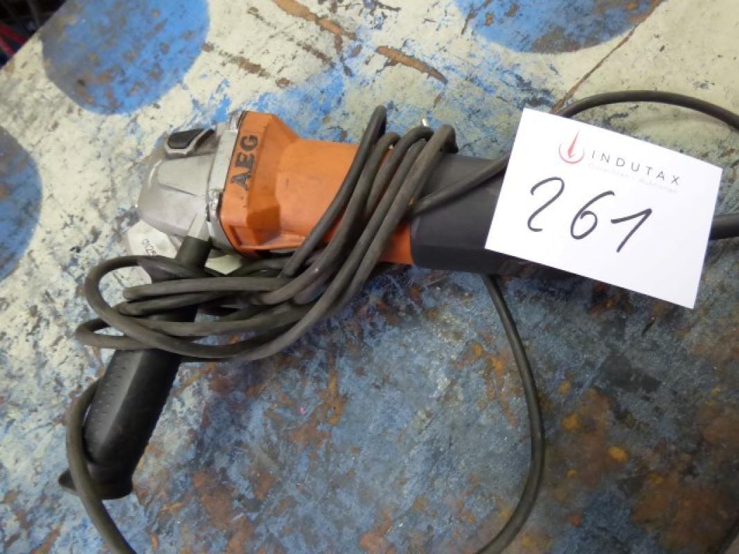 elektrischer Winkelschleifer AEG