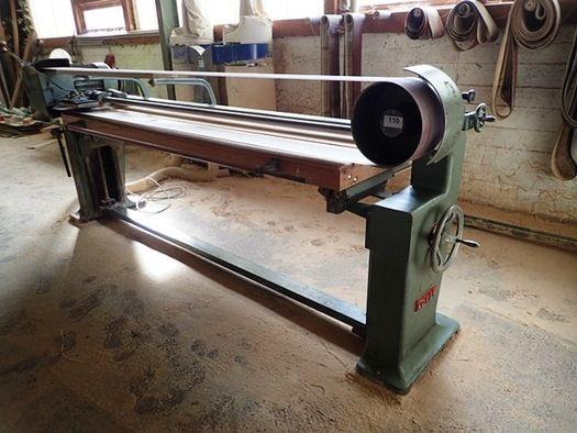 Höfer Bandschleifmaschine ca. 80x250 cm