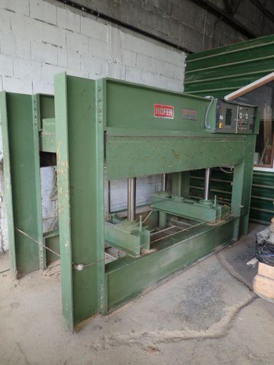 Heizplattenpresse 130x250 cm HÖFER