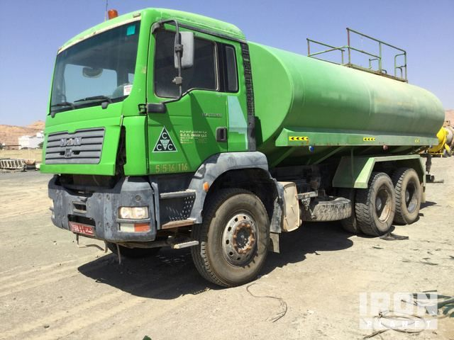 2006 MAN 33.360 6x4 Water Truck