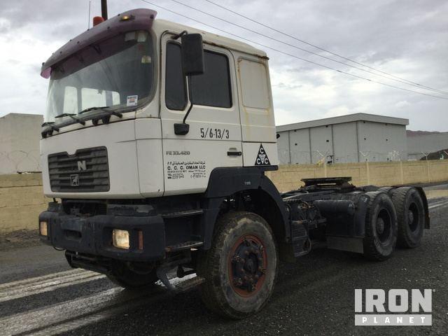 2003 (nicht verifiziert) MAN 33.423 6x4 Sleeper Truck Tractor