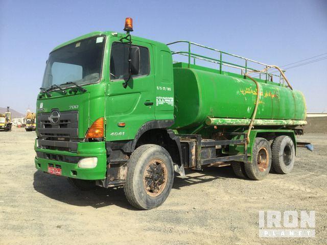 2007 Hino ZS1EPVA 6x4 Wasserwagen