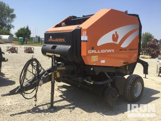 2013 Gallignani GA V6 Farmer Rundballenpresse