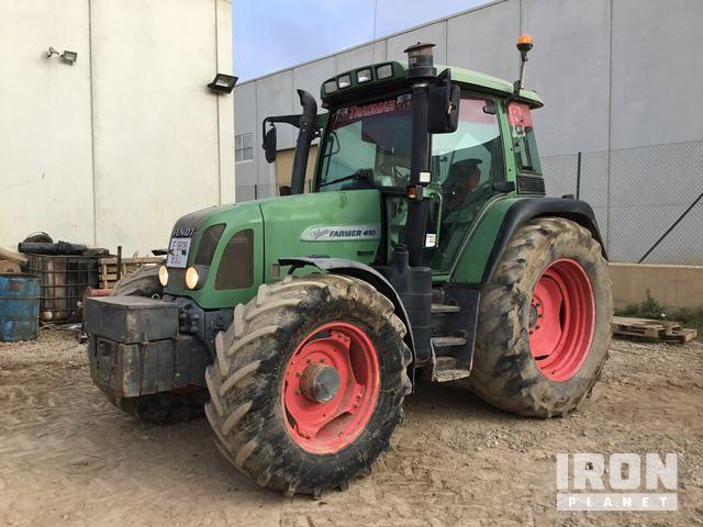 2005 Fendt Farmer 410 Vario 4WD Traktor