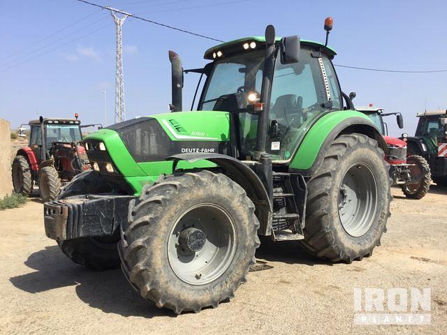 2013 Deutz-Fahr 6160 P Agroton 4WD Traktor