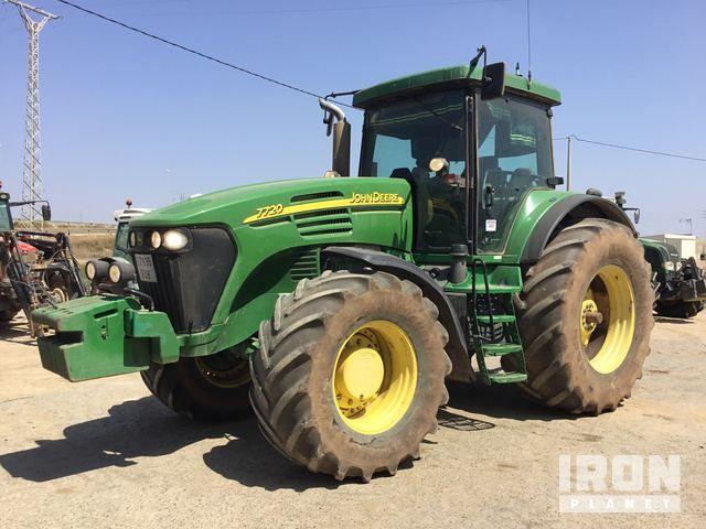 2004 John Deere 7720 4WD Traktor