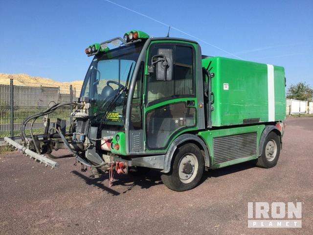2008 Boschung L3 Washer Truck