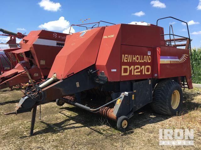 New Holland D1210 Hochdruckpresse