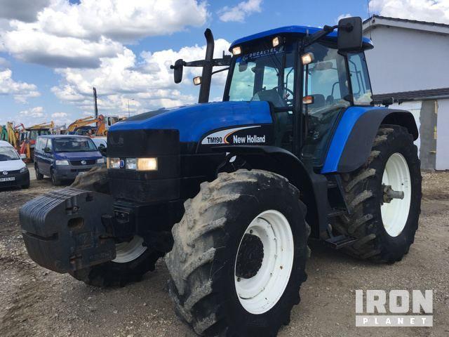 2004 (nicht verifiziert) New Holland TM190 4WD Traktor