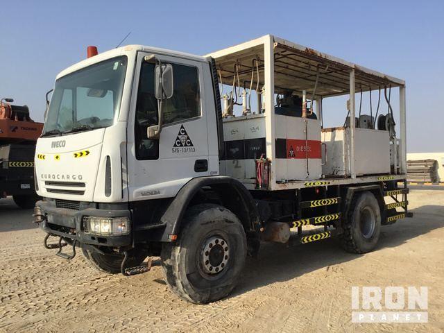 2007 Iveco ML140E24W 4x4 Paliwo i wzmacniacz; Schmierwagen
