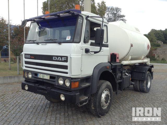 1993 DAF 2300 Turbo 4x4 Tankfahrzeug