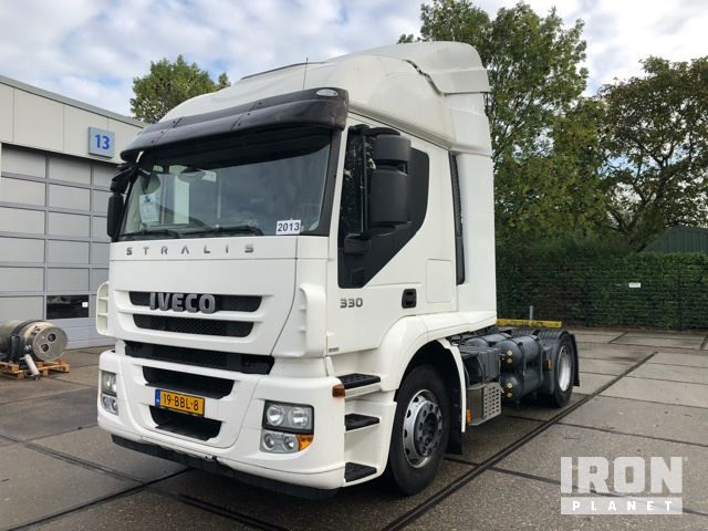2013 Iveco Stralis AT440S33T / P LNG / CNG 4x2 Schwellen-Sattelzugmaschine