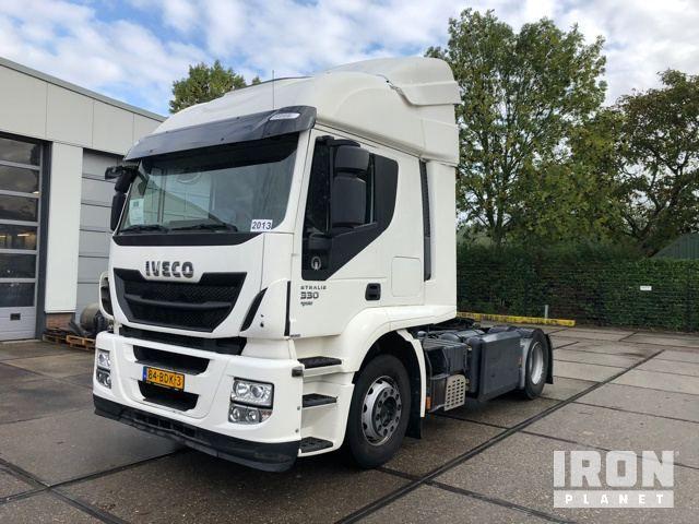 2013 Iveco Stralis AT440T / P CNG / LNG 4x2 Schwellen-LKW-Traktor