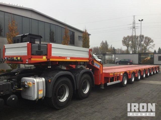 2015 Cometto X84AH / 3000 8-Achs-Anhänger