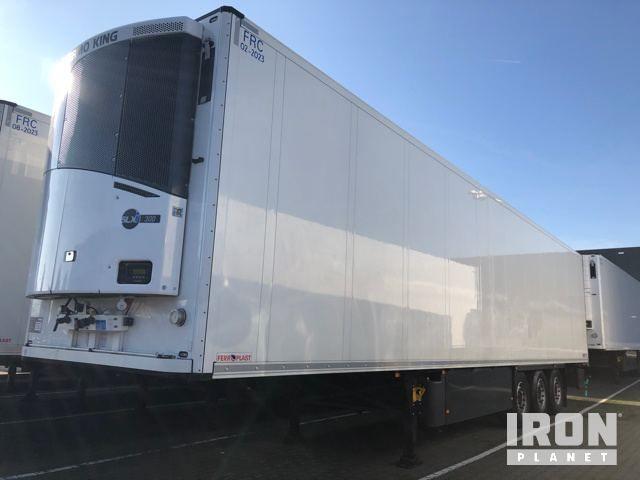 2017 Schmitz Cargobull SKO24 / L - FP 45 thermoking SLXi300 T Kühlanhänger