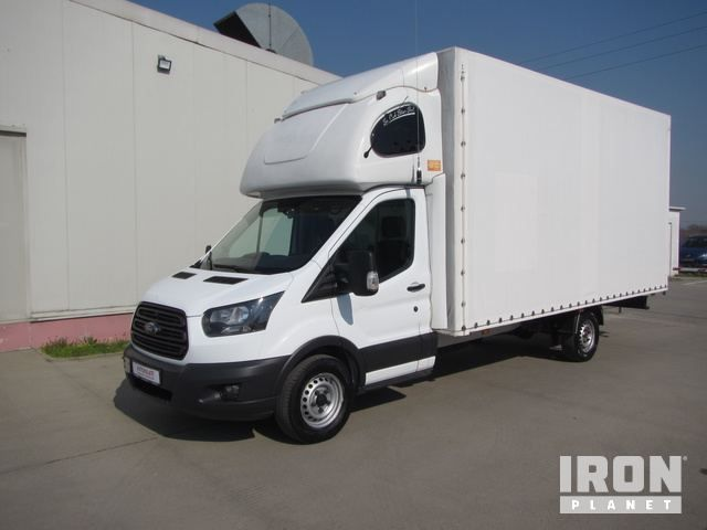 2017 Ford Transit Curtain Side Truck