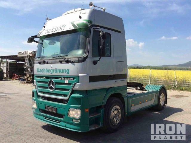 2008 Mercedes-Benz Actros 1848 4x2 Sleeper Truck Traktor