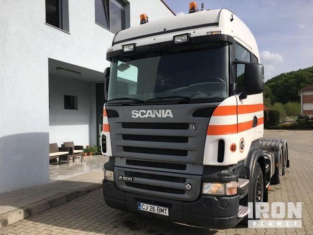 2006 Scania R500 6x4 Sleeper Truck Traktor
