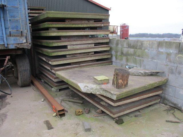 Posten Beton-Bodenplatten